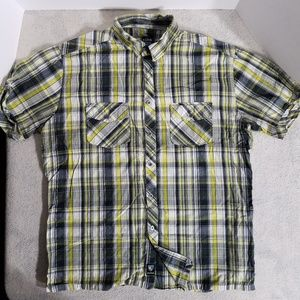 Kuhl Checks & Boxes Casual Button Up Shirt